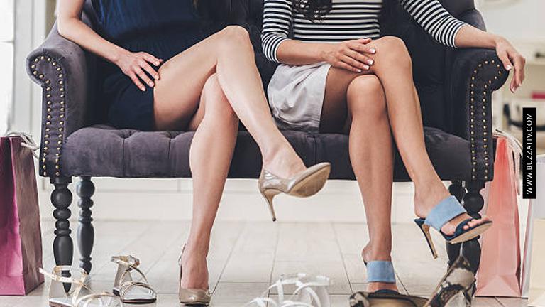 sitting crossed legged