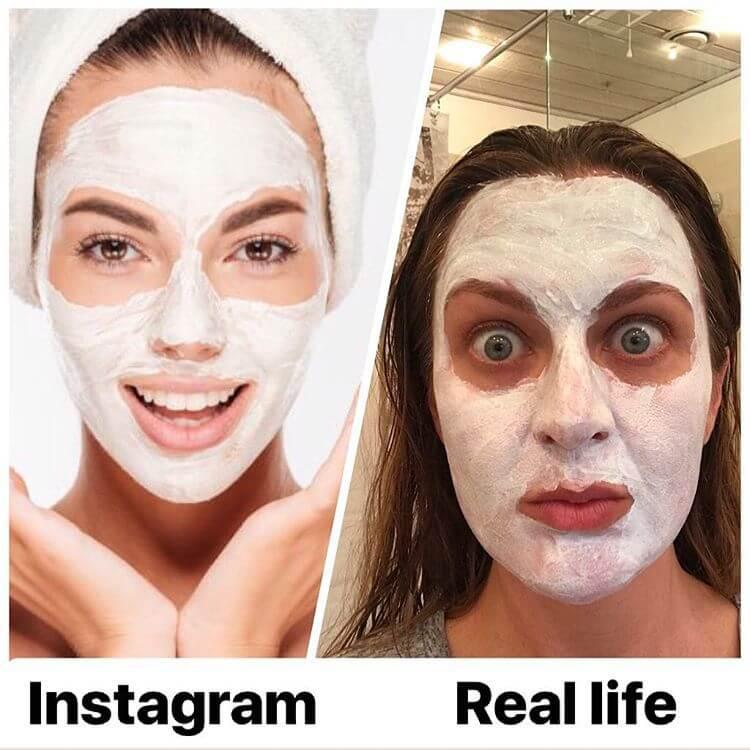 Instagram VS Reality