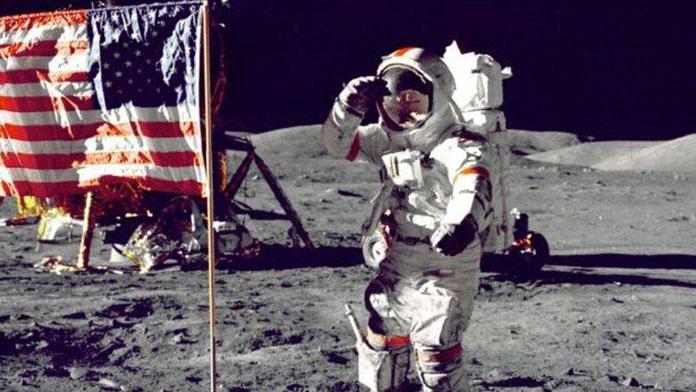 faux moon landing