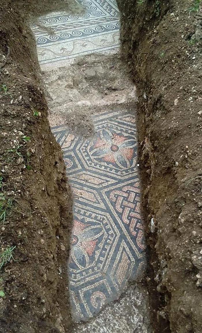 roman mosiac floor
