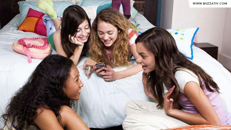 girls during sleepovers