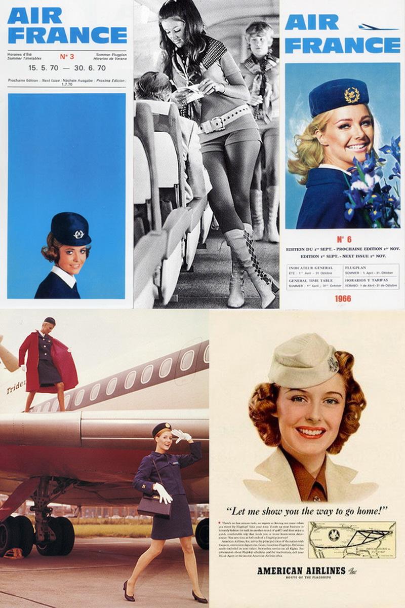 vintage air stewardess