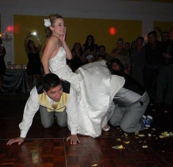 awkward wedding photos