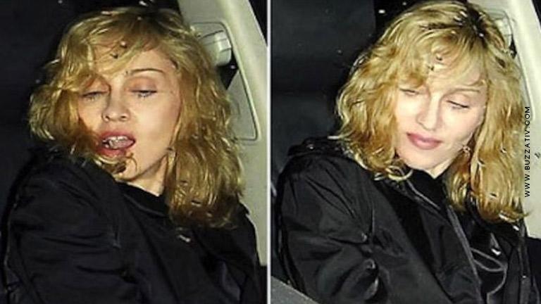 madonna drunk