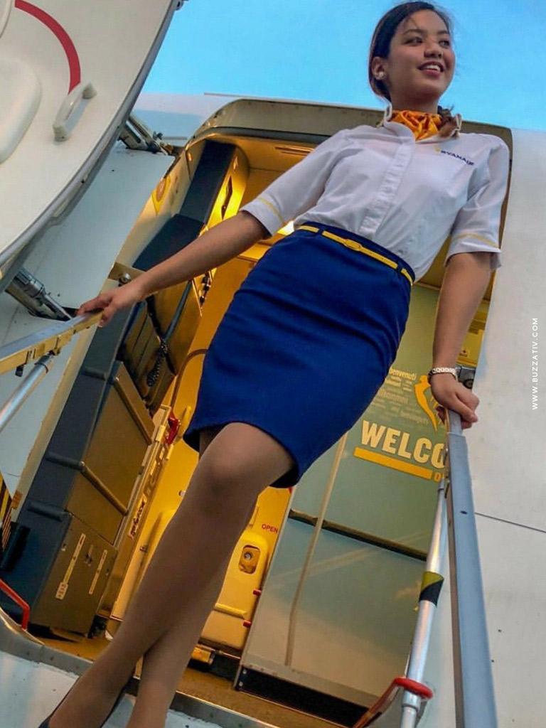 ryanair hottest cabin crew